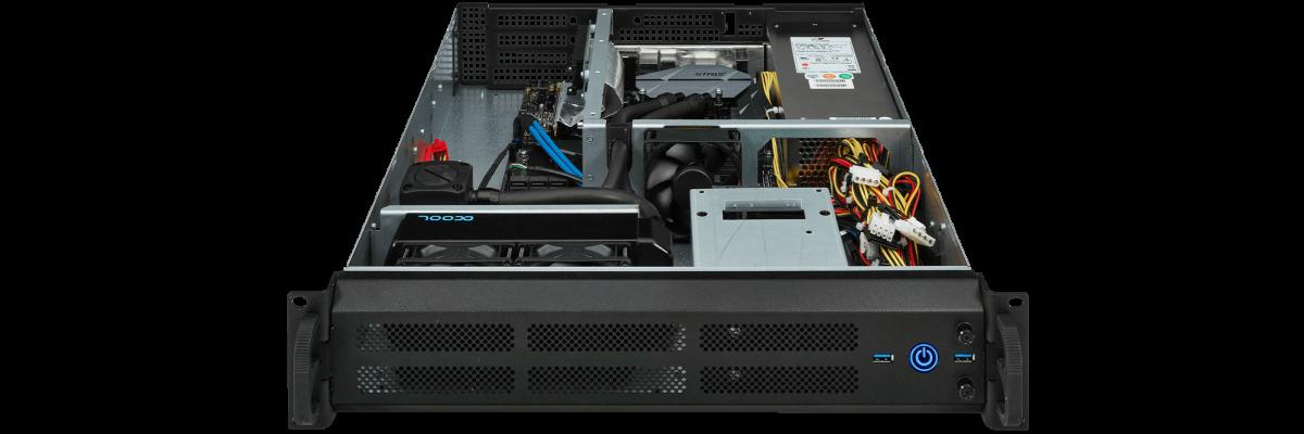 2U PC Wasserkühlung für AMD Threadripper
