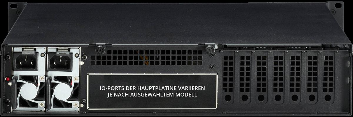 2U PC Dual PSU