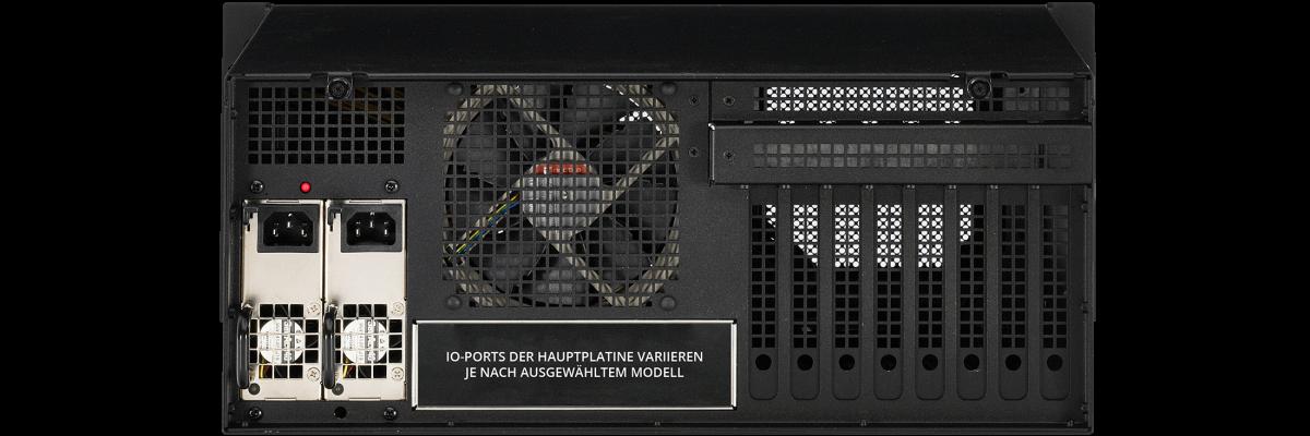 4U Nano redundantes Netzteil